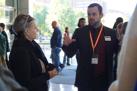 Behind-the-Front-Lines Tour with host Chris McGinnis at the National Constitution Center