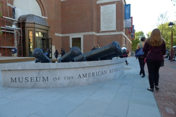 Heading to the Behind-the-Front-Lines Tour at the new Museum of the American Revolution
